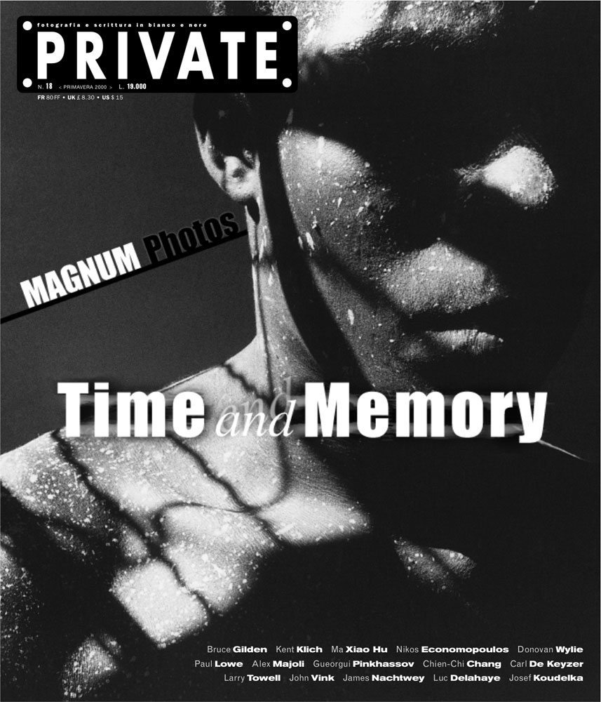 A special issue of PRIVATE dedicated to MAGNUM Photos Agency.