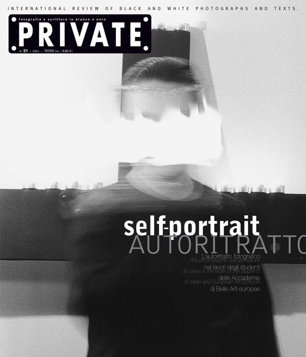 The photographic self-portraiture as seen in the work of the students of Italian and European Art Schools.