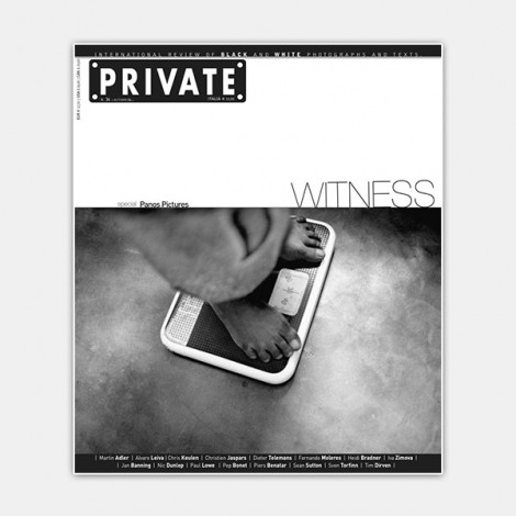 PRIVATE 34 - Witness. Special Panos Pictures, cover photo © Pep Bonet