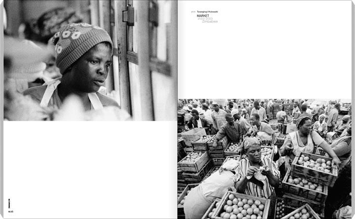 PRIVATE 36, p. 44-45 (44-47), Tsvangirayi Mukwazhi | Market