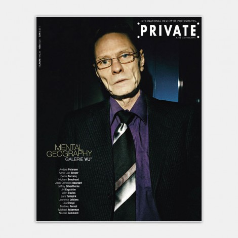 PRIVATE 46, Mental Geography - Galerie VU' (Photo cover: Lars Tunbjörk)