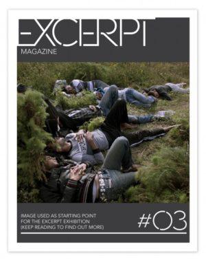 Excerpt Magazine Issue 3 Cover Artist: Loris Savino.