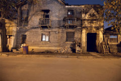 Suzhou, City, Center, Nanxim Lu. Outside view of old mansion.