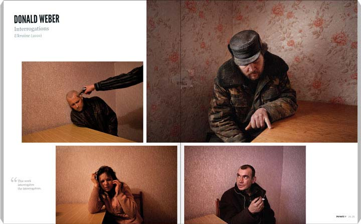 Donald Weber, Interrogations