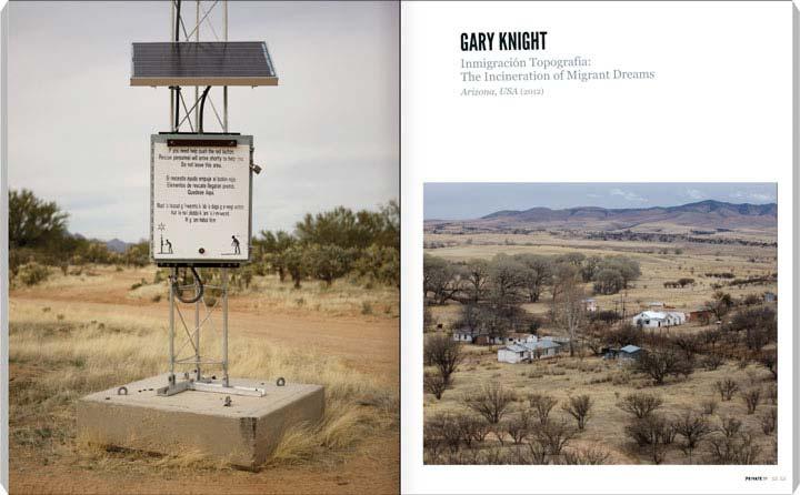 Gary Knight, Inmigración Topografia: