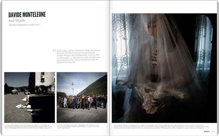 Davide Monteleone, Red Thistle PRIVATE 57, p. 08-09 (08-11)