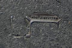 Brooklyn, New York - 2009. Untitled (from Asphalt Archeology series)