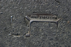 Brooklyn, New York - 2009. Untitled (from Asphalt Archeology series)