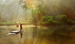 © Michael Theodric (10 years old from Indonesia) Morning at Situ Gunung