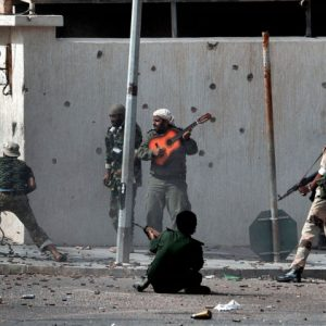 © Aris Messinis - AFP - La bataille de Syrte - Libye