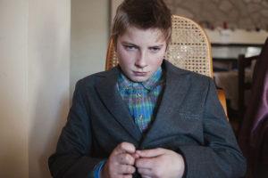 Tivoli, Italy - February 2013   Andrei in his new home in Tivoli, near Rome.
