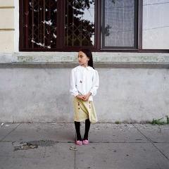 """A Girl Called Julia, Serbia-Romania border""."