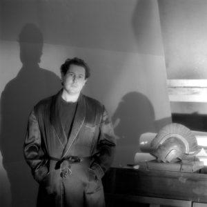 """Jeannette Montgomery Barron, """"Julian Schnabel, studio, NYC"""", 1984 © Jeannette Montgomery Barron"""