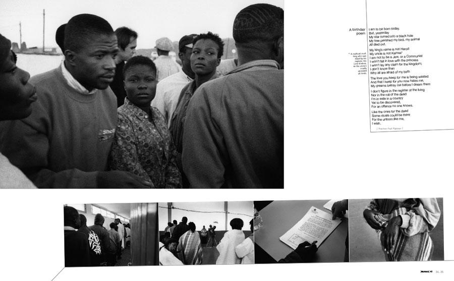 PRIVATE 40, p. 34-35, photo Michel Lozano, text Thachom Poyil Rajeevan