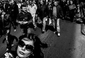 Demonstration in Belgrade