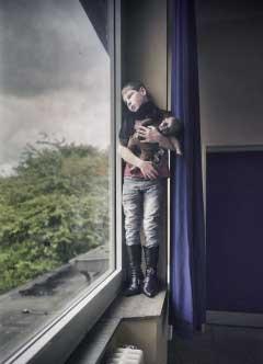 """""""Senza titolo"""" da """"Infliction"""" 2014, © Heiko Tiemann"""