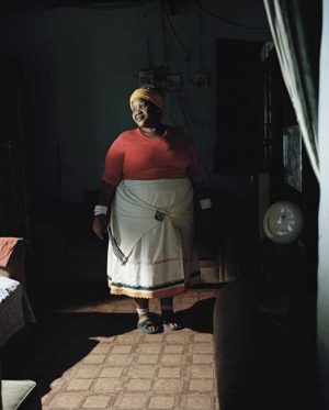 Eunice Magwa at home, Dunoon, Cape town, 2014
