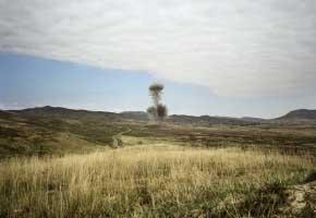 In der Nähe von Askeran, Berg-Karabach, 8.9.2011