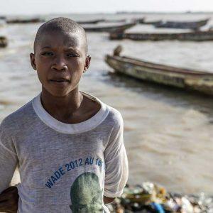 Gandiol, Senegal, October 2014. Amadou, eldest son of a village fisherman.