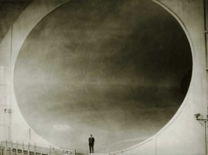 NYT Photo Wind Tunnel in Chalais Meudon, 1935  Silver gelatin print, 18 x 24 cm