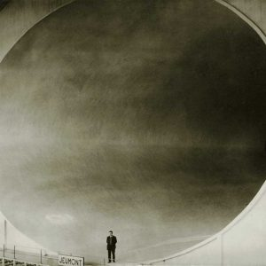 NYT Photo Wind Tunnel in Chalais Meudon, 1935  Silver gelatin print, 18 x 24 cm
