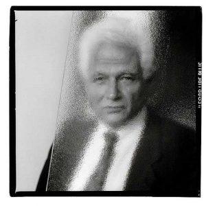 Jacques Derrida. © Gérard Rondeau