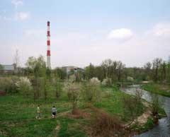 Wloclawek, Poland - April 2014. Heating Plant.