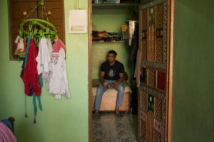 Gopal in his room.