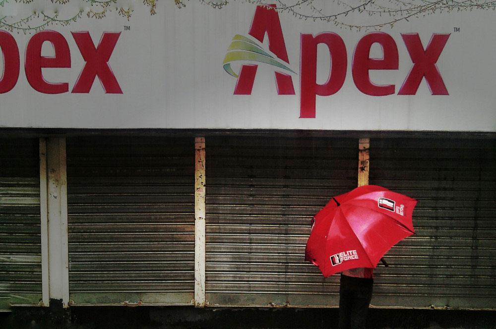 Banani, Dhaka, Bangladesh-September, 2015. Red Apex