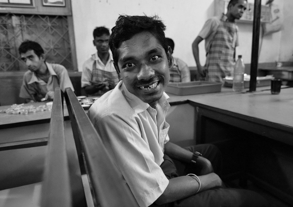 Jamshedpur, India- April 2016. happiness