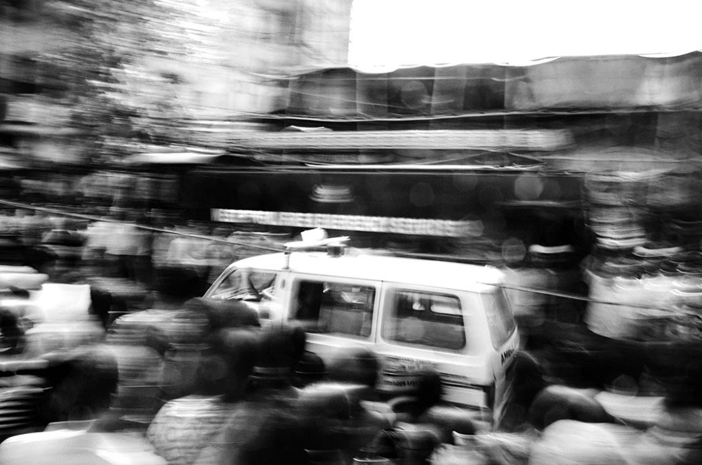 Girish Park,Kolkata,India-March 2016.The emergency services including ambulances and the fire department rushed to the spot ,but the response was rather slow and not on time .On top of that,there was mismanagement to reduce the damage in the initial hours of operation.
