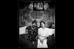 Carol Czanca, 43 ans, et Katalin Otvos, 41 ans. Cluj-Napoca, Roumanie, 1998  © Jean-François Joly