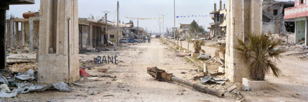 The city of Kobane photographed by Kai Wiedenhöfer