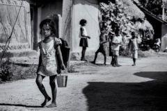 Going to School, Purulia, West Bengal - November, 2015