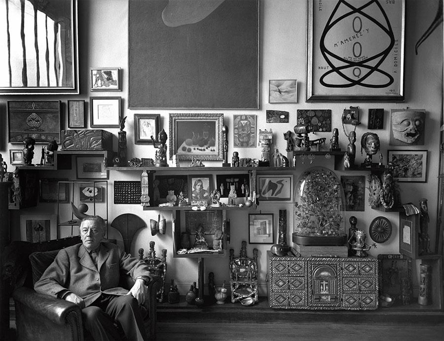 André Breton par Sabine Weiss