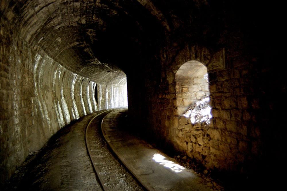 Tunnel, Pelion, Greece, March 2015