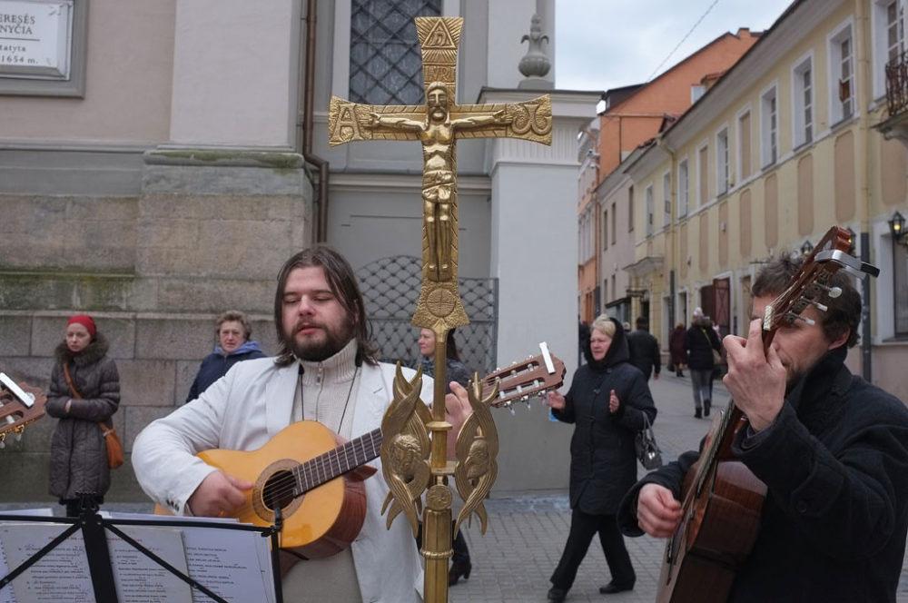 Vilnius, Lituania, April 2015