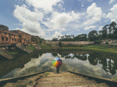 BALIATI PALACE, MANIKGANJ, DHAKA, BANGLADESH - June 2016. Baliati Zamindar Bari is located at the village of Baliati, in Saturia Upazila in Manikganj District, Bangladesh. It is the palace of the Zamindars, the Baliati Zamindari who ruled over a large area.