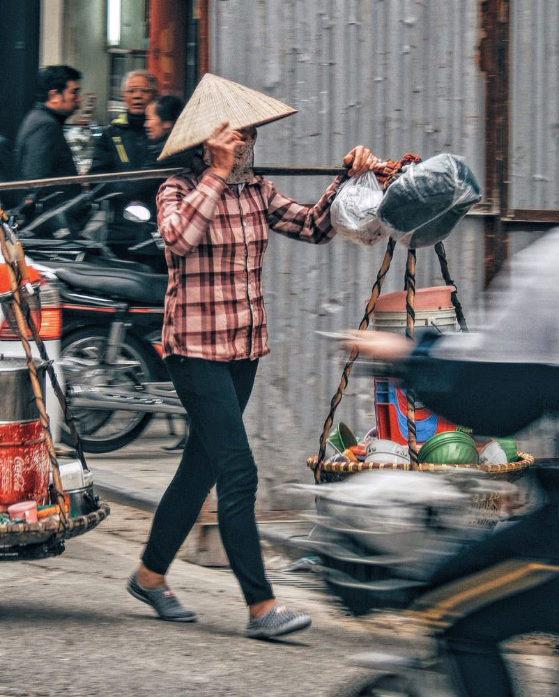 HANOI, VIETNAM - March 2016.