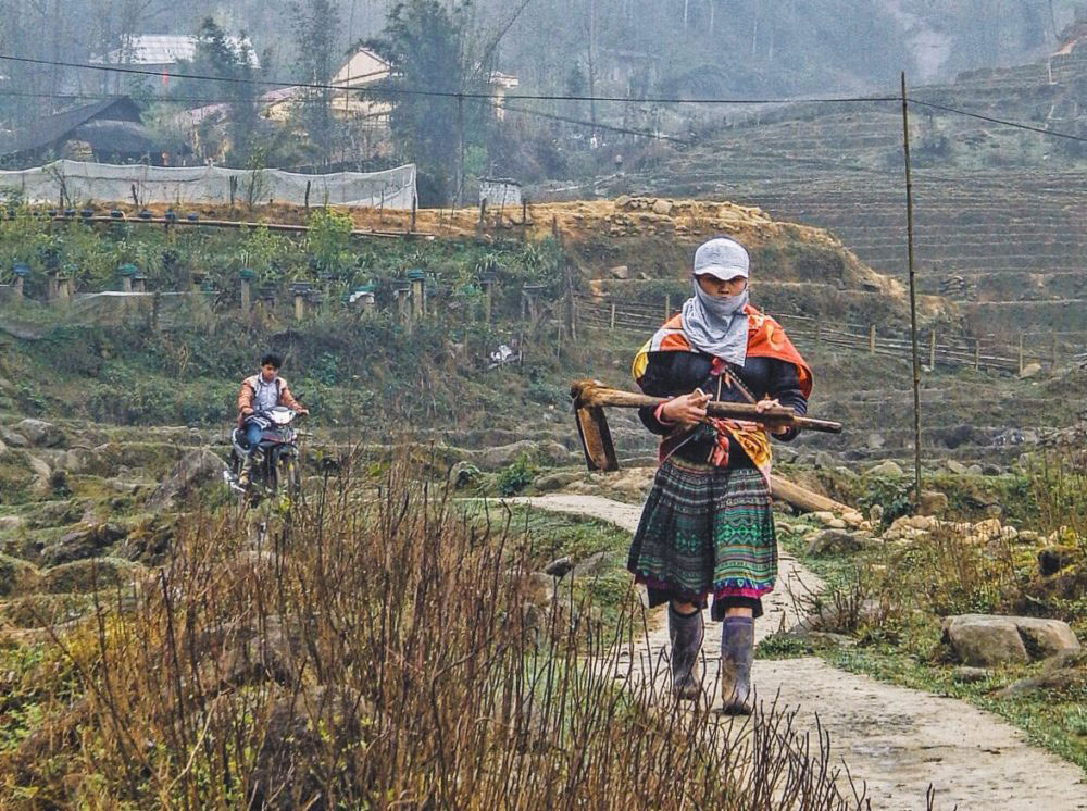 LAO CAI, VIETNAM - March 2016.