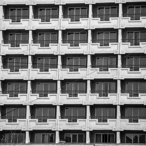 Yerevan, ARMENIA - 2016. Marriot hotel building
