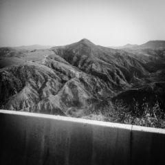 Beni Chougrane mountain range at the outskirts of Mascara,July,21st,2016.
