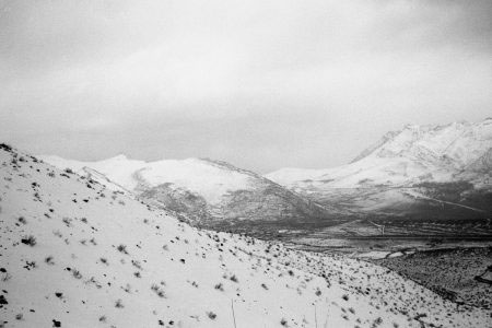 """Iranian Kurdistan, Hawraman mountains. March 2016. The Zagros Mountains separate the Islamic Republic from Iraq. Iranian Kurdistan is only a small area within what Kurdish nationalists understand to be """"Eastern Kurdistan"""""""