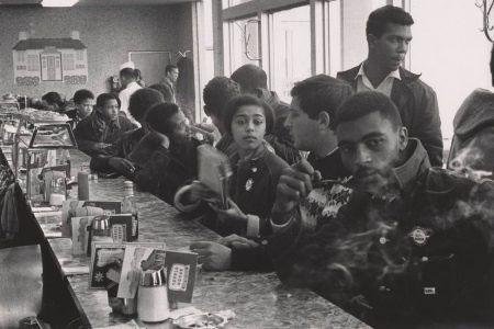 © Danny Lyon, Student Nonviolent Coordinating Commitee (SNCC) Sit-In, Atlanta, 1963