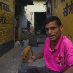 Gaffar Manzil, New Delhi, India - April 2017. Introducing Jamil bhai and Bulbul.
