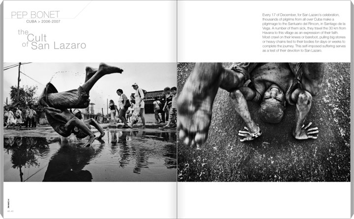 PRIVATE 44, p. 40-41 (40-47), Pep Bonet - Cuba. The Cult of San Lazaro.