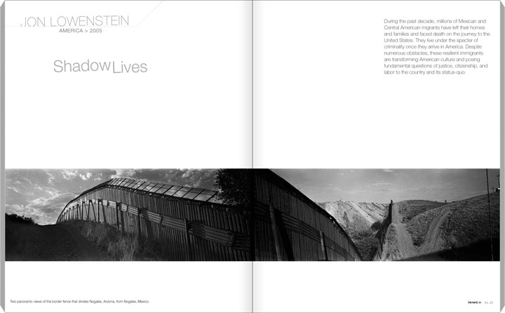 PRIVATE 44, p. 64-65 (64-71), Jon Lowenstein - USA. Shadow Lives.