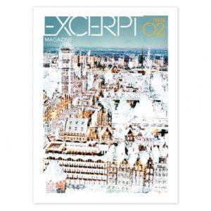 Excerpt Magazine Cover, Izabela Pluta, Untitled (LOT card) #9, 2010