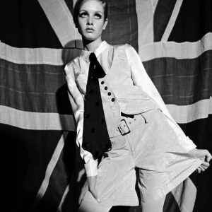 Twiggy, 1966 by Terence Donovan