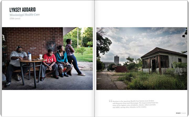 Lynsey Addario, Mississippi Health Care